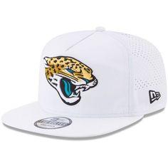 premium selection 627f4 e4320 Jacksonville Jaguars New Era 2017 Training Camp Official A-Frame Golfer Hat  - White -