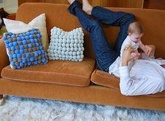 Φτιάξτε εκπληκτικά χαλιά pom-pom μόνοι σας + super Ιδέες! | Φτιάξτο μόνος σου…