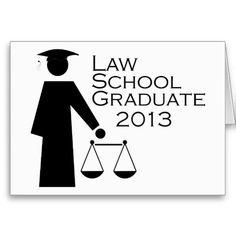 Law School Graduate 2013 Greeting Cards