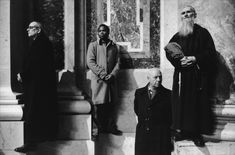 Richard Kalvar, At a consecration of bishops, Saint-Pierre, Rome, 1981