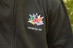 Canada 150 Zip-Up Sweater  #Canada150 #Canada