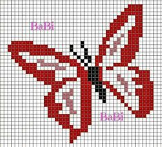 Cross Stitch Alphabet, Cross Stitch Animals, Cross Stitch Charts, Cross Stitch Designs, Cross Stitch Patterns, Butterfly Cross Stitch, Butterfly Pattern, Cross Stitching, Cross Stitch Embroidery