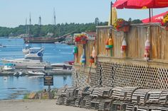 While we love winter here in Maine, some of us are longing for summer days like this one in Boothbay.