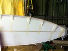 Wooden Surfboard, Diy Boat, Sanding Block, Vacuum Pump, Surf Board, Paddle, Table Lamp, Building, Table Lamps