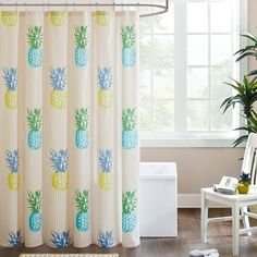 This would be an adorable accessory to the pineapple themed bathroom.
