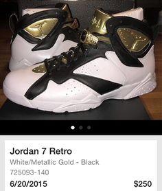 timeless design bc9fb 30692 Jordan Vii, Kicks Shoes, Jordan Shoes, Black Leather, Air Jordans, Me