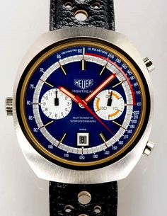 d3f5d1df1fd Racing Rarities Classic timepieces from TAG Heuer s motorsports heyday go  on the auction block.