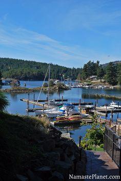 Painted Boat Resort, Sunshine Coast, British Columbia, Canada Canada Vancouver, Vancouver British Columbia, Vancouver Island, Gambier Island, Sunshine Coast Bc, Tourist Sites, Boat Painting, Holiday Places, Quebec City