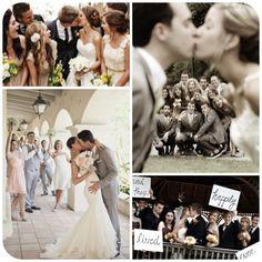 Casamento: Fotos divertidas com padrinhos e madrinhas | Noivinhas de Luxo