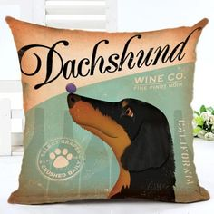 NEW HOT ITEM - Cool Dog Breed Design Scatter Cushion Covers
