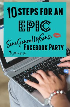 A SeneGence or LipSense Facebook Party hostess looking for tips and coaching to make her party EPIC should start here.  #hostesscoaching #facebookparty #lipsense #senegence #epic