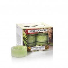 Yankee Candle Tealights - Lemongrass & Ginger