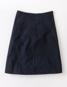 Boden Chino Skirt  Front Length: 26.25 Waist: 29.5 Hip: 36 Hem Circumference: 52.75 Outer 98% cotton 2% elastane Concealed Side Zip
