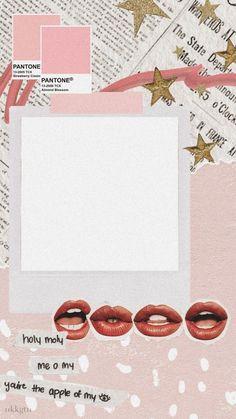 Story Instagram, Creative Instagram Stories, Aesthetic Pastel Wallpaper, Aesthetic Wallpapers, Polaroid Picture Frame, Instagram Frame Template, Photo Collage Template, Picture Templates, Polaroid Template
