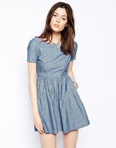 Levi's Short Sleeve T-Shirt Dress