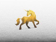 © Golden Unicorn / Logo Design by simc