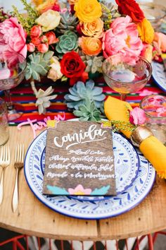 Can you guys believe that Cinco De Mayo is just over 3 weeks away? I'm dreaming of sunshine and bright florals in May so as you can imagine this Cinco De Mayo shoot is giving me all the feels! Mexican Wedding Invitations, Mexican Wedding Decorations, Mexican Themed Weddings, Wedding Blog, Wedding Styles, Our Wedding, Wedding Ideas, Sedona Wedding, Wedding Planning