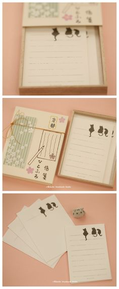 writing paper & envelopes letter set Matchbox card,Japanese Matchbox,Gift box,cheer up box,Valentine's Gift,Gift for her/him,Girlfriend gift, birthday gift, holiday gift and matchbox art ideas #cat #kitten #kitty ##japanstyle #stationery #付箋 #文房具  #japanesepackaging #unique #messagecard #handmade #custom #GreetingCards #paper #Longdistancegift #thoughtfulgift #valentineday  #kikuikestudio  #matchboxmessage #千代紙  #japanesehandmade #giftofkids