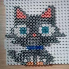 Cat hama beads by manualidadesvictoria