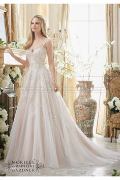Mori Lee Wedding Gown Style 288. Visit our complete line of More Lee Bridal Gowns at Debra's Bridal Shop, 9365 Philips Hwy., Jacksonville, FL 32256 (904) 519-9900