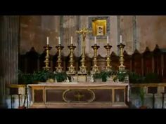An altar is any structure upon which offerings such as sacrifices are made for religious purposes, and by extension the 'Holy table' of post-reformation Angl. Altar, Buildings, Youtube, Altars, Youtubers, Youtube Movies