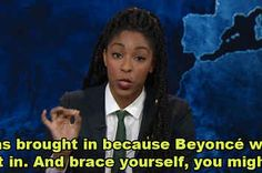 Jessica Williams Defended Beyoncé's Halftime Performance And It's Everything Brace Yourself, Jessica Williams, Super Bowl, Everything, Hate, Music, Black, Musica, Musik