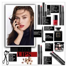 """So Stylish: Statement Lips"" by danielle-487 ❤ liked on Polyvore featuring beauty, Chanel, Bobbi Brown Cosmetics and statementlip"