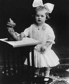 Lucille Desiree Ball age 2. Born 1911