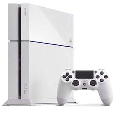 White PS4 announced at E3 2014
