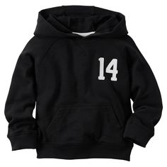 Hooded French Terry Pullover