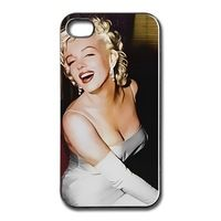 Yark Marilyn Monroe smile customized hard plastic mobile phone bag for iphone 4 4s 5 5s 5c 6 6 plus case cover