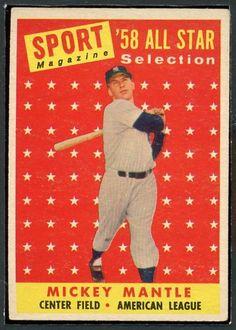 Topps Mickey Mantle Baseball Card