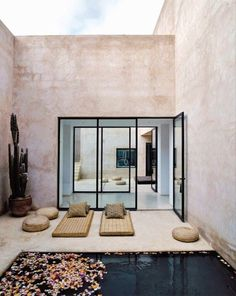 Moroccan-Courtyards-Maison-Palmeraie
