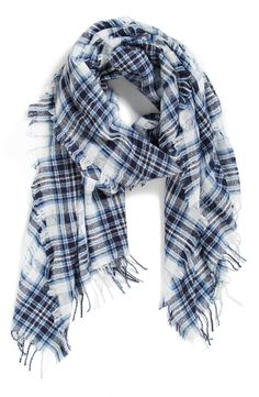 Cute scarves are a must for fall.