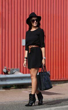 The Black Summer Dress | The Stylemma