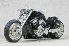 "Custom ""Stealth"" V-Rod.... Nice"