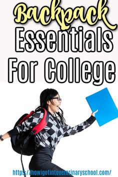 College students need a little help getting through those long days. Whether you're studying for finals or just trying to stay awake in class, we've got the perfect list of college backpack essentials that will keep your skin moisturized and boost your energy without taking up too much space in your bag. #backpackessentials #collegetools #backpackforcollege #thingstoputinyourbackpack via @veterinaryschool College Backpack Essentials, Mini First Aid Kit, School Site, Animal Experiences, College List, How To Stay Awake, College Students, Studying, Studio