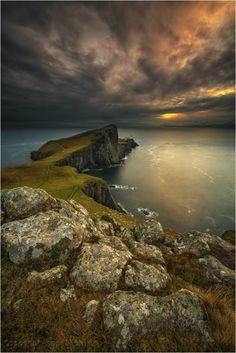 Before Storm, Neist Point, Isle of Skye, Scotland