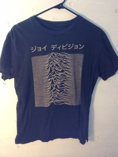 Vintage Japanese Joy Division Shirt