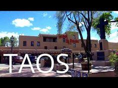 A Tour of Downtown Taos, New Mexico - YouTube