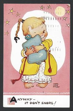 MABEL LUCIE ATTWELL card, 1958. | eBay