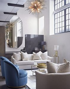 Outstanding Decorating Ideas by Taylor Howes! Interior design ideas Luxury Living Room Modern Living Room Ideas #homedecorideas #modernlivingroomdesign #luxuryinteriordesign Find more in: https://www.brabbu.com/en/inspiration-and-ideas/