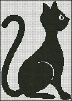 Животные монохром вышивка