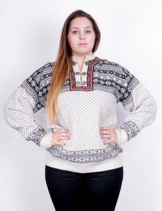 Christiania Womens XL Sweater Jumper Nordic Vintage 90s - RetrospectClothes