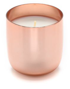 Jonathan Adler Pop Champagne Candle - I always loved the look of these rose gold candles. Rose Gold Bedroom Accessories, Rose Gold Rooms, Rose Gold Candle, Gold Candles, Diy Candles, Scented Candles, Candle Jars, Candle Holders, Home Living