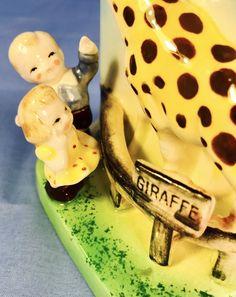 RETRO! Giraffe Zoo Circus Jungle Samson Baby Vintage Planter 1950s Kitsch Sale | eBay