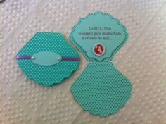 Festa Party, Mermaid Birthday, Holidays And Events, Drink Sleeves, Birthday Invitations, Centerpieces, Scrap, Baby Shower, Diy