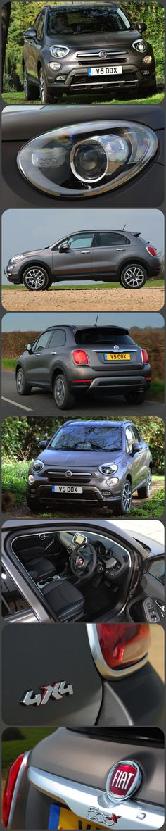 Fiat 500X Crossover Review by Tom Scanlan Fiat's new 'crossover' (as this type of car is called) is all about heritage, design and substance…says Fiat. And, like the original tiny 500 more than fifty years ago, it's about being 'sexy, cool and Italian' — the car that is, not necessarily the driver. This relatively big car will, we hear, appeal to stylish, adventurous types who are both outgoing and technically savvy. #Fiat #500X #Carreviews #NewCars #4x4