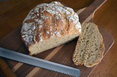 No Knead Multigran Wheat Bread.... love the taste of wheat bread, especially if it is light and has a touch of honey.  This bread has an added bonus of using a cracked nine or ten grain cereal that adds another dimension of flavor and texture.