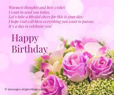 You are one special person and you deserve nothing but the best. May you have all the great blessings to feast. Happy Birthday.
